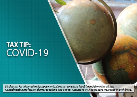 IRS Adjusts Tax Residency Rules for Travelers Affected by COVID-19