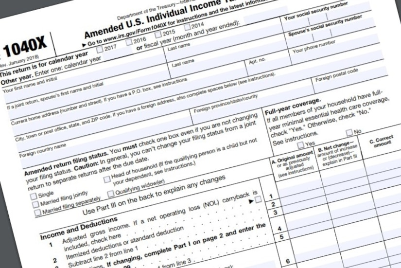 """""""Amended"""" Tax Returns Can Now Be Filed Electronically!"""